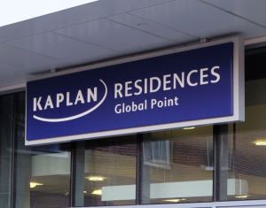 Clockwork Signs Kaplan Residences Signage Front