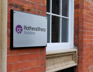 Clockwork Signs Rothera Sharp Lace Market Sign